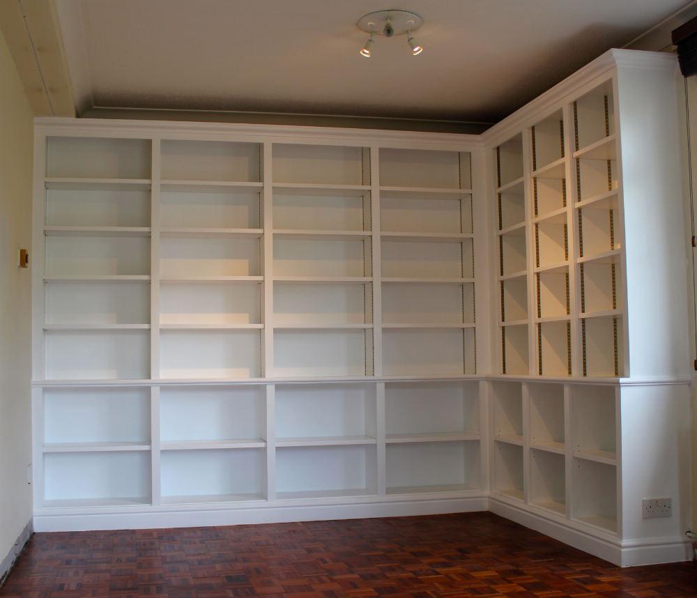 Corner Library Bookcase In Putney
