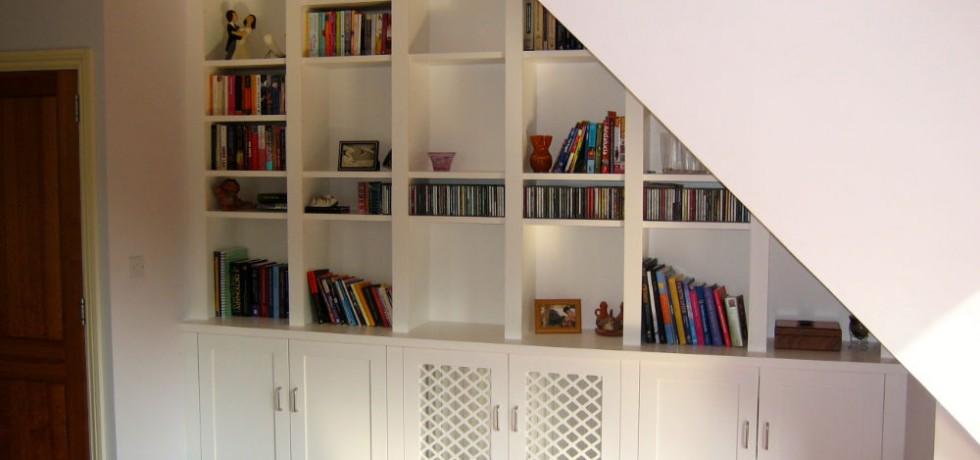 The Bookcase Co Purpose Built Bookcases Amp Alcove Units